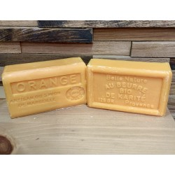 Orange Soap with Organic...